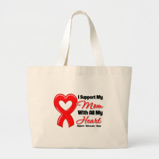 I Support My Mom With All My Heart Bag