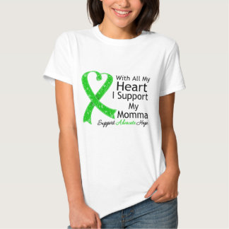 I Support My Momma With All My Heart T-shirts