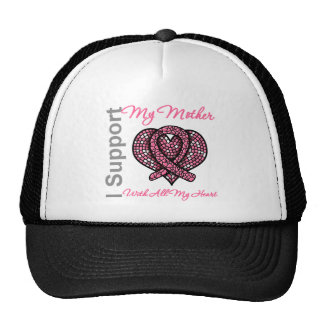 I Support My Mother Breast Cancer Awareness Trucker Hat
