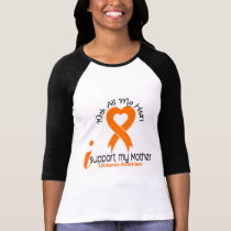 I Support My Mother Leukemia T-Shirt