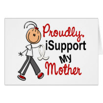 I Support My Mother SFT (Bone / Lung Cancer) Card