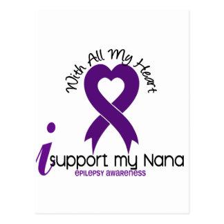 I Support My Nana Epilepsy Postcard