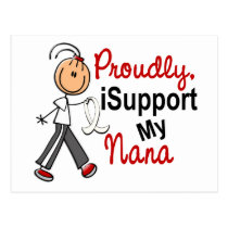 I Support My Nana SFT (Bone / Lung Cancer) Postcard
