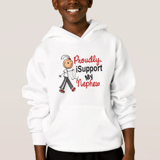 I Support My Nephew SFT (Bone / Lung Cancer) Hoodie
