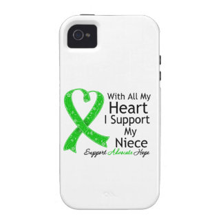 I Support My Niece All My Heart Vibe iPhone 4 Covers