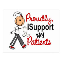 I Support My Patients SFT (Bone / Lung Cancer) Postcard