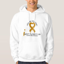 I Support My Sister-In-Law Appendix Cancer Hoodie
