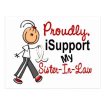I Support My Sister-In-Law SFT (Bone / Lung Cancer Postcard