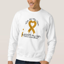 I Support My Son Appendix Cancer Sweatshirt