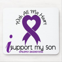 I Support My Son Epilepsy Mouse Pad