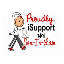 I Support My SON-IN-LAW (Bone / Lung Cancer) Postcard