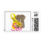 I support my Son Postage Stamps
