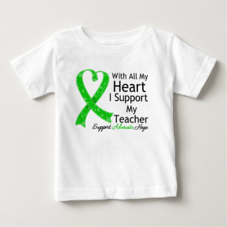 I Support My Teacher With All My Heart T Shirt