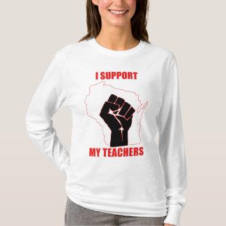 I support my teachers T-Shirt