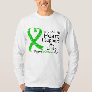 I Support My Uncle With All My Heart T-shirts