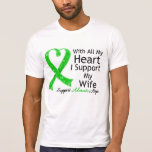 I Support My Wife With All My Heart Tee Shirt