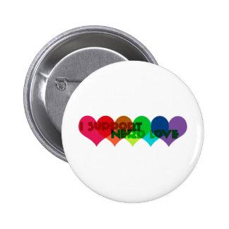 I support Nerd Love 2 Inch Round Button
