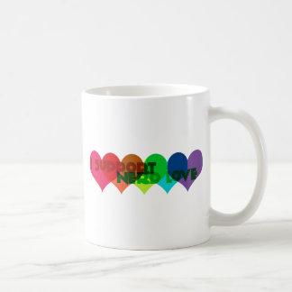 I support Nerd Love Classic White Coffee Mug