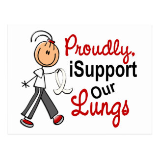 I Support Our Lungs SFT (Lung Cancer Awareness) Postcard