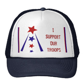 I Support Our Troops Hat