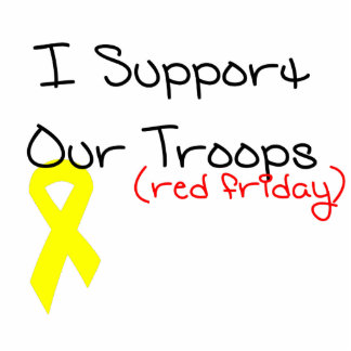 I Support Our Troops Statuette