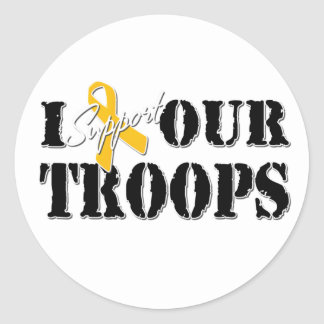 I Support Our Troops Sticker