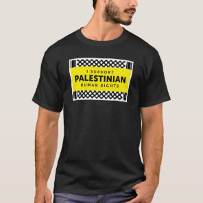 I Support Palestinian Human Rights Shirt