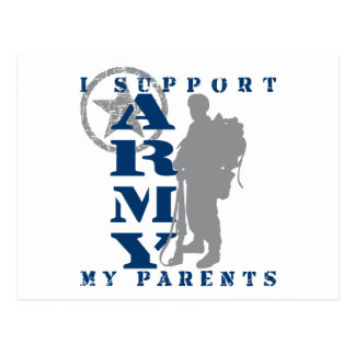 I Support Parents 2 - ARMY Postcard