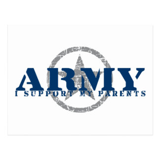 I Support Parents - ARMY Postcard