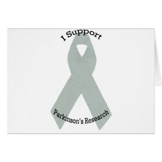 I Support Parkinson's Research Card