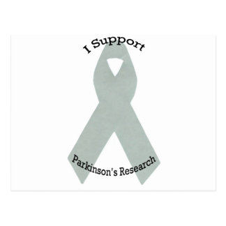 I Support Parkinson's Research Postcard
