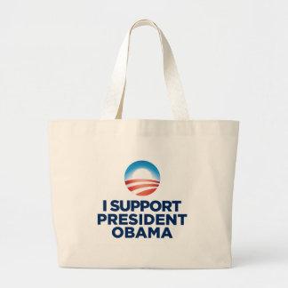 I Support President Obama Canvas Bag