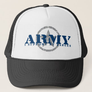 I Support Ranger - ARMY Trucker Hat