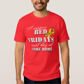 I Support Red Fridays Shirt