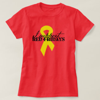 I support red fridays T-Shirt