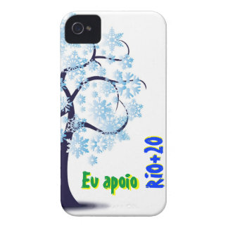 I support RIO+20 iPhone 4 Cover
