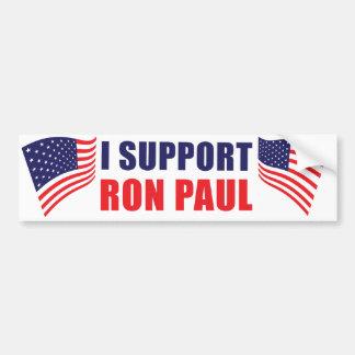 I Support Ron Paul Bumper Sticker Car Bumper Sticker