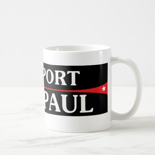 I Support Ron Paul! Coffee Mug