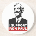 I Support Ron Paul for President 2012 Beverage Coaster