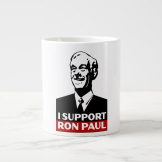 I Support Ron Paul for President 2012 Giant Coffee Mug
