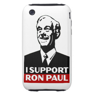 I Support Ron Paul for President 2012 iPhone 3 Tough Cover