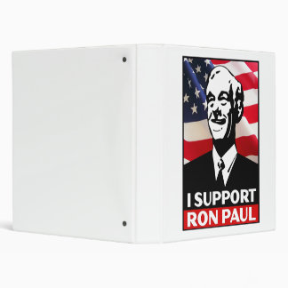 I Support Ron Paul for President in 2012 Binder