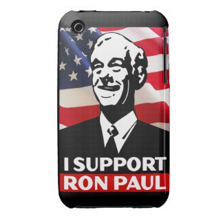 I Support Ron Paul for President in 2012 Case-Mate iPhone 3 Case
