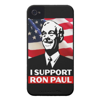 I Support Ron Paul for President in 2012 iPhone 4 Cover