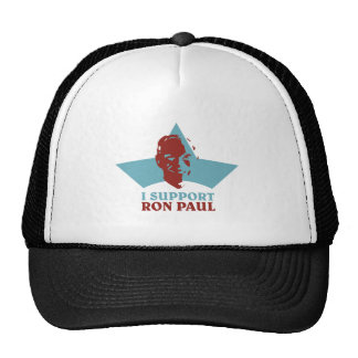 I-SUPPORT-RON-PAUL GORRAS