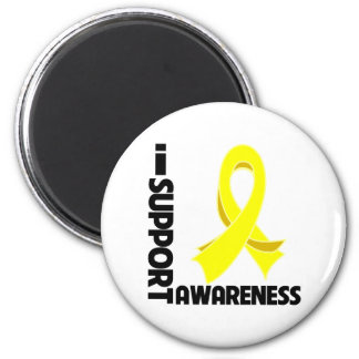 I Support Sarcoma Awareness 2 Inch Round Magnet