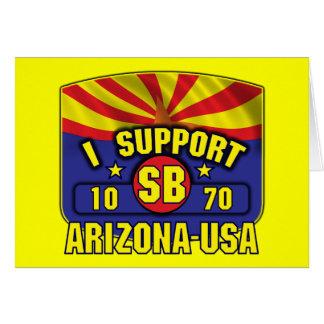 I Support SB1070 - Arizona USA Card