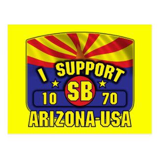 I Support SB1070 - Arizona USA Postcard