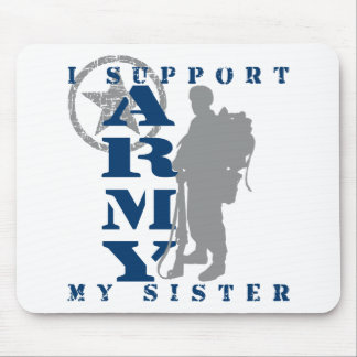 I Support Sister 2 - ARMY Mouse Pad