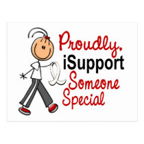 I Support Someone Special SFT (Bone / Lung Cancer) Postcard